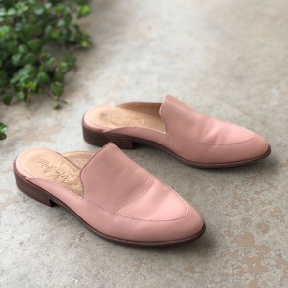 e8d13c5d2515c Madewell Shoes | The Frances Pink Loafer Slides Mules | Poshmark
